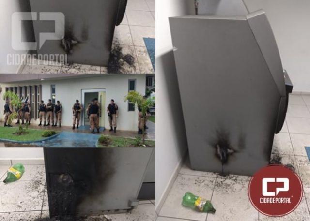 Operação Policial inibe ação de assaltantes de caixa eletrônico em Indianópolis