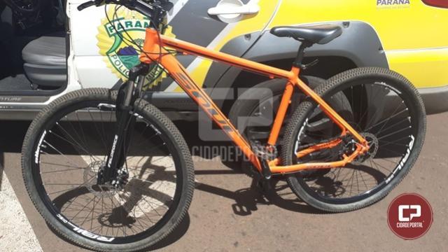 Homem é preso tentando vender bicicleta furtada em Campo Mourão