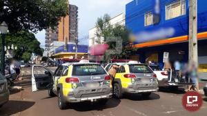 Polícia Militar age rápido, frustra assalto e prende duas pessoas em Campo Mourão