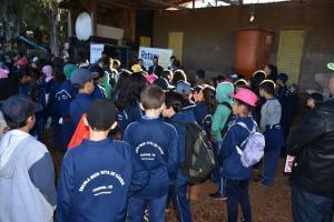 Estudantes participam de Atividades no dia mundial do meio ambiente em Luiziana