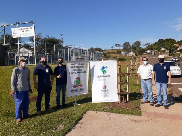 Barbosa Ferraz comemora a semana do Meio Ambiente com plantio de árvores