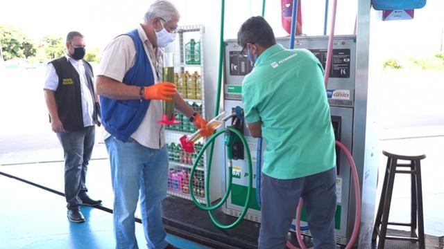 Procon e ANP fiscalizam Postos de Combustível em Campo Mourão