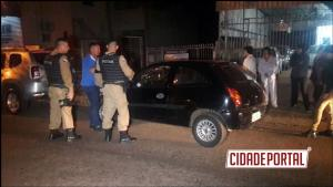 Briga em um grupo de WhatsApp acaba com jovem ferido na Avenida Goioerê em Campo Mourão.