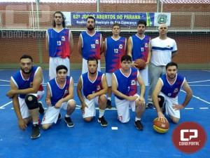 Equipe de Boa Esperança inicia com vitória contra Ubiratã no Basquetebol Masculino dos JAPS
