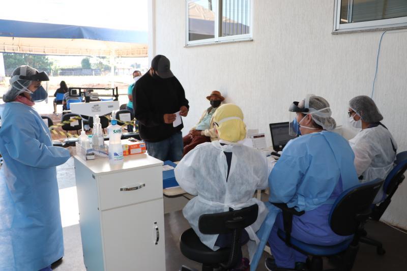 UPA passou por adaptações para atendimento em tempo de pandemia