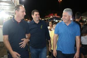 Secretário Douglas Fabrício prestigiou abertura das comemorações de 57 anos