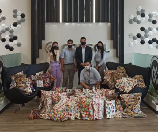 Cresol promove arrecadação de brinquedos e beneficia crianças da comunidade de Campo Mourão