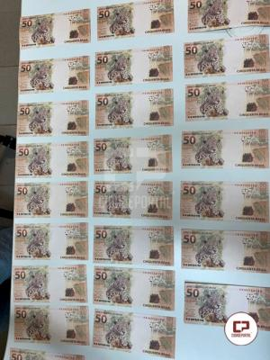 Polícia Federal prende jovem com R$ 2.000,00 em cédulas falsas na cidade de Campo Mourão