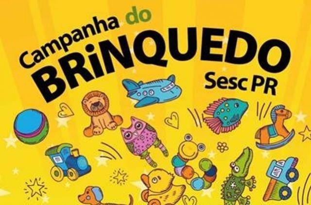 Sesc de Campo Mourão realiza mais uma Campanha do Brinquedo