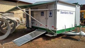 Município de Campo Mourão adquire Sanitário Móvel para eventos