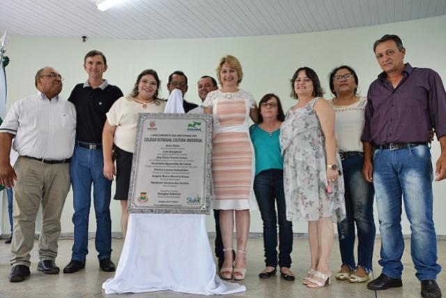 Evento marca lançamento da reforma do Colégio Estadual Cultura Universal em Farol