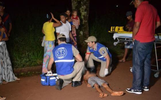 Campo Mourão: Criança é atropelada no Jardim Tropical; imprensa é agredida