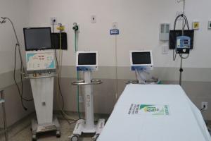 Campo Mourão recebe mais respiradores para atendimento de pacientes Covid