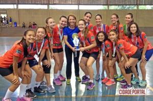 Handebol tem seus campeões na Fase Municipal dos Jogos Escolares em Campo Mourão