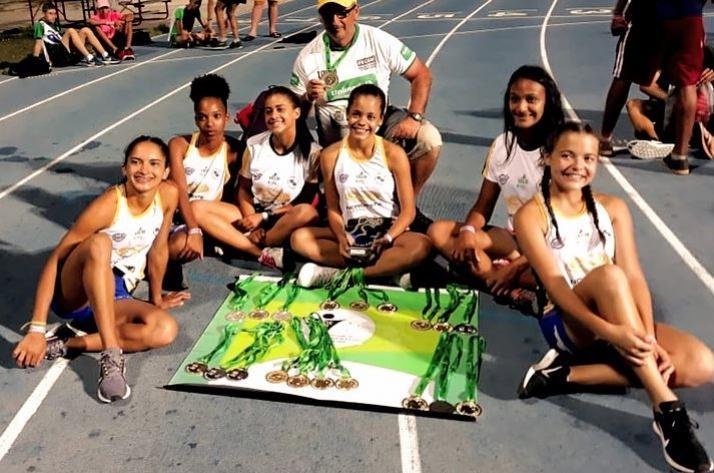 Mourãoenses se preparam para o Mundial Escolar de Atletismo