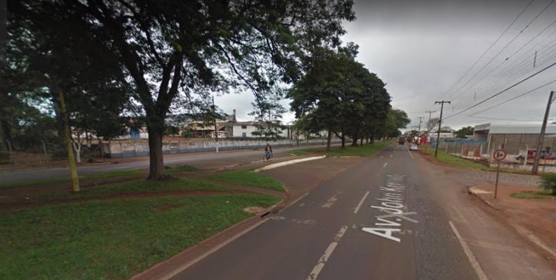 DNIT de C. Mourão que iniciou serviços de recuperação de pista no trecho urbano da BR-272