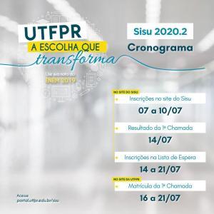 UTFPRoferta 264 vagas em cursos de graduação em Campo Mourão pelo Sisu