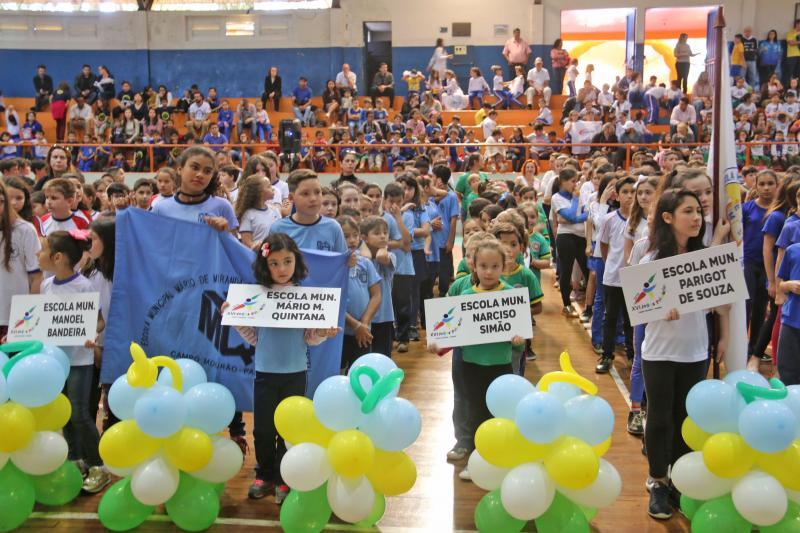 Abertura dos Jogos Primários será nesta segunda-feira em Campo Mourão