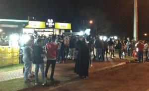 Blitz do Maio Amarelo em bar teve participação da morte em Campo Mourão