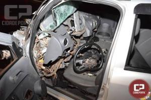 Acidente termina com morte na BR-369, próximo ao trevo de Mamborê
