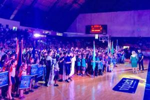 Abertura dos Jogos Primários de Campo Mourão levou grande público ao Ginásio de Esportes JK