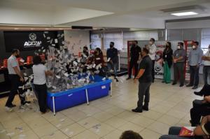 Prêmios entregues e sorteio de moto encerram projeto da Acicam