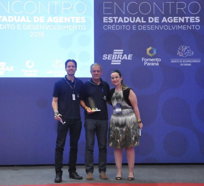 Banco do Empreendedor de Campo Mourão recebe prêmio Qualidade da Fomento Paraná