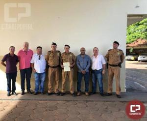 3ª Companhia Independente de Polícia Militar realiza solenidade mensal alusiva ao policial destaque