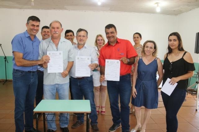 Assinado contrato para reformas  do Clube de Mães do Cidade Nova em Campo Mourão