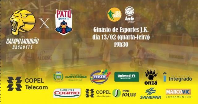 900 ingressos já estão nas mãos de torcedores para a estreia do Campo Mourão Basquete na Liga Ouro