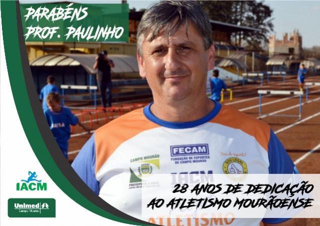 Técnico do Atletismo completa 28 anos de dedicação ao esporte mourãoense