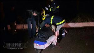 Acidente automobilístico deixa duas pessoas com ferimentos na BR-369 próximo a Arcam em Campo Mourão