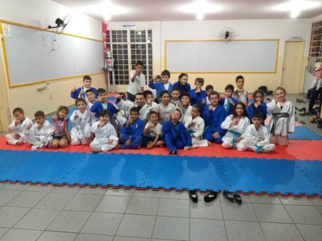 Projeto Social Judô nas Escolas de C. Mourão conquista mais adeptos a cada dia
