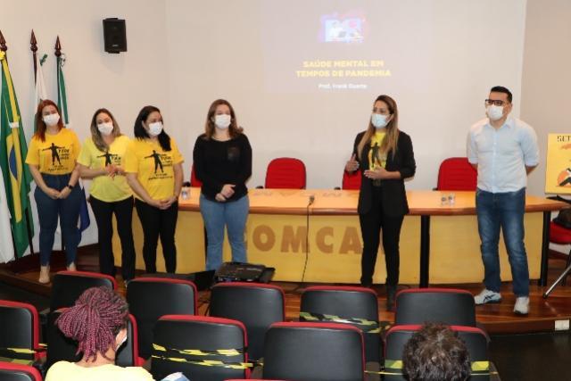 Servidores da saúde mental de Campo Mourão participam de palestra sobre prevenção ao suicídio