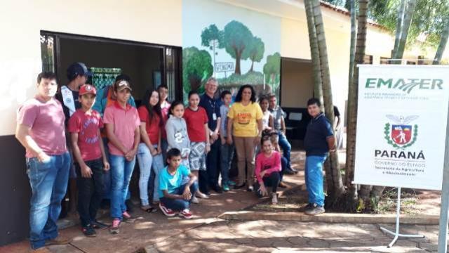 Evento em parceria Prefeitura Municipal de Nova Cantú /Emater/SEED