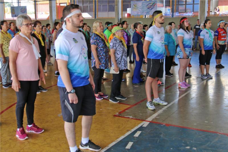 Jogos do Idoso foram realizados em Campo Mourão