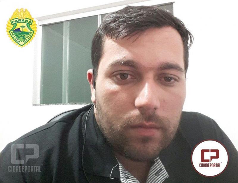 Repórter de Campo Mourão socorre vítimas de roubo e assaltantes acabam presos pela Polícia Militar