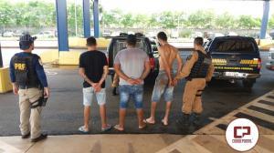 Após atentado contra viatura, PRF recupera carro roubado em Terra Roxa