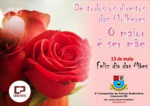 Policiais Rodoviários Estadual participa da solenidade alusivo à campanha Maio Amarelo em Marechal Rondon