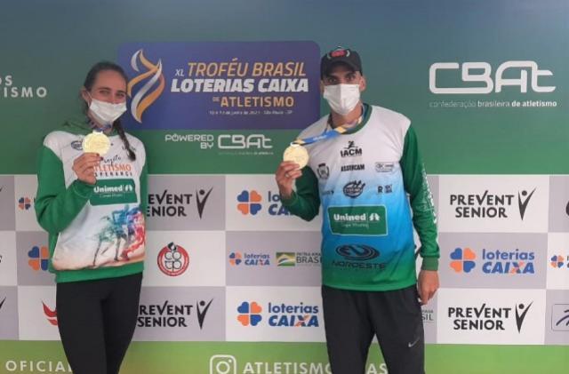 Mourãoenses Campeões Brasileiros conquistam ótimos resultados no Atletismo Adulto