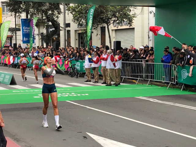 Viviane Lyra, do atletismo mourãoense, é a 4ª melhor das Américas e garante vaga no Mundial do Catar