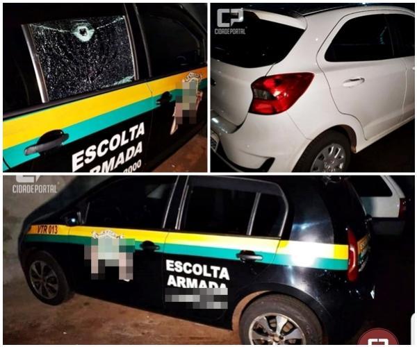Escolta Armada troca tiros com carro na BR-369, Policial de São Paulo estava no veículo