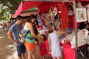 Feira da Economia Criativa teve atrativos para as mães em Campo Mourão