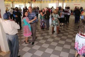 Festa julina no bailão da terceira idade