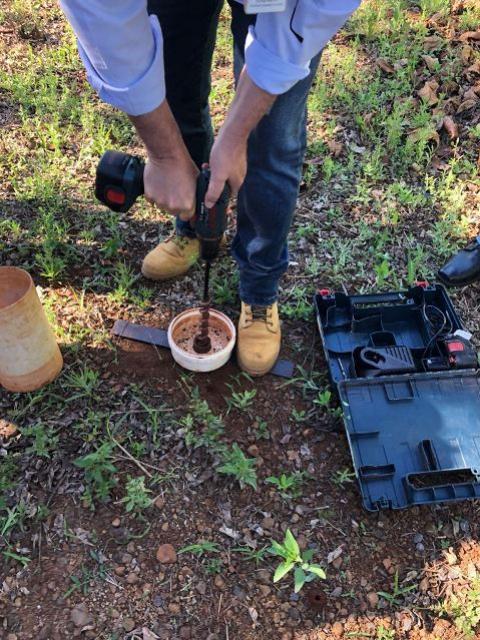 Reunião prática sobre Tecnologia de Aplicação e Agricultura de Precisão em Nova Cantu