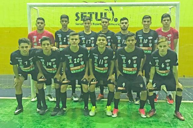 Futsal masculino mourãoense joga terceira fase do Estadual em casa