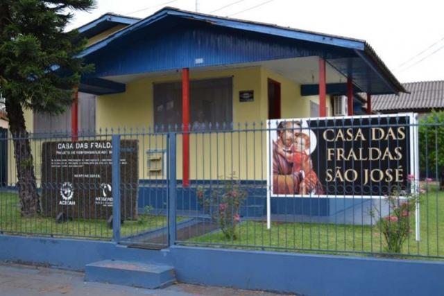 Casa das Fraldas era inaugurada  há 11 anos, em Campo Mourão