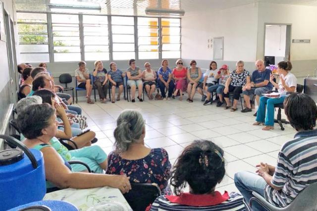 NASF promove Terapia Comunitária em Campo Mourão