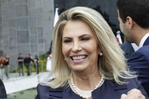 Governadora confirmada na posse da diretoria da Acicam em Campo Mourão