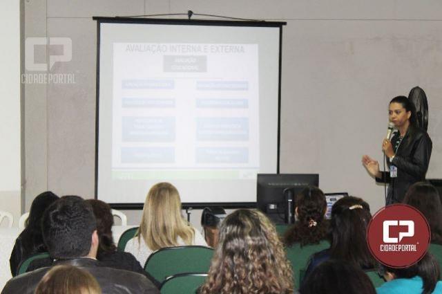 Pedagogos recebem formação continuada nesta quinta-feira, 14, em Campo Mourão